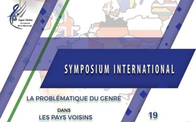 Gender Studies Symposium at the 5th International Congress on Sport Sciences, Hammamet, Tunisia, April 19, 2019